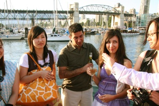 One of Vancouver's best known bridges makes a perfect backdrop for this MBA Photo Opp