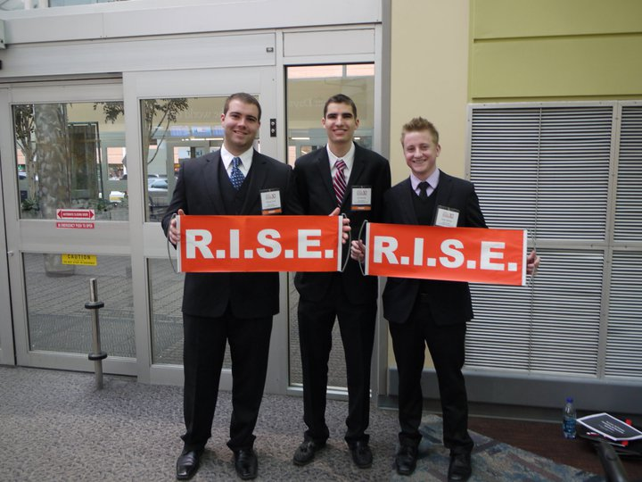 SFU Beedie Students at R.I.S.E. the world's largest student investment forum